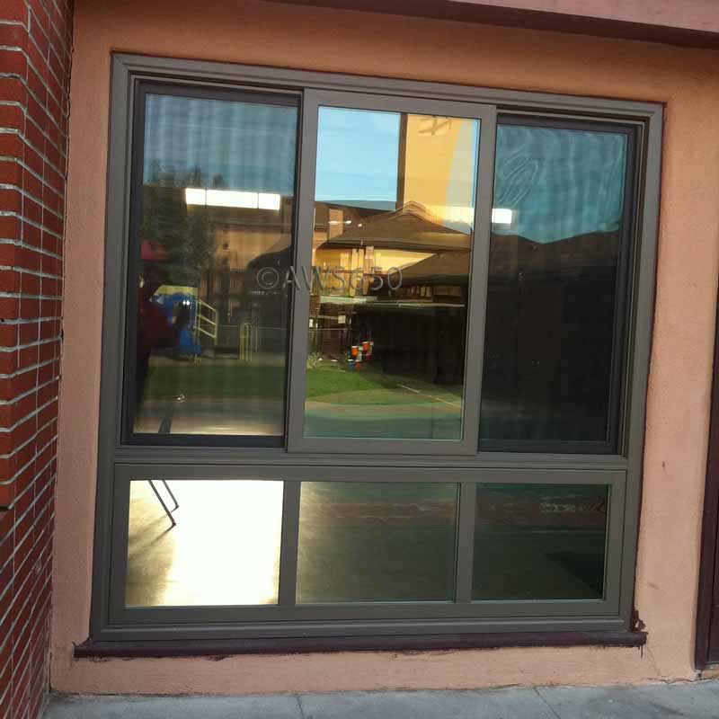 milgard tuscany chocolate exterior premium paint vinyl z bar frame. Black Bedroom Furniture Sets. Home Design Ideas