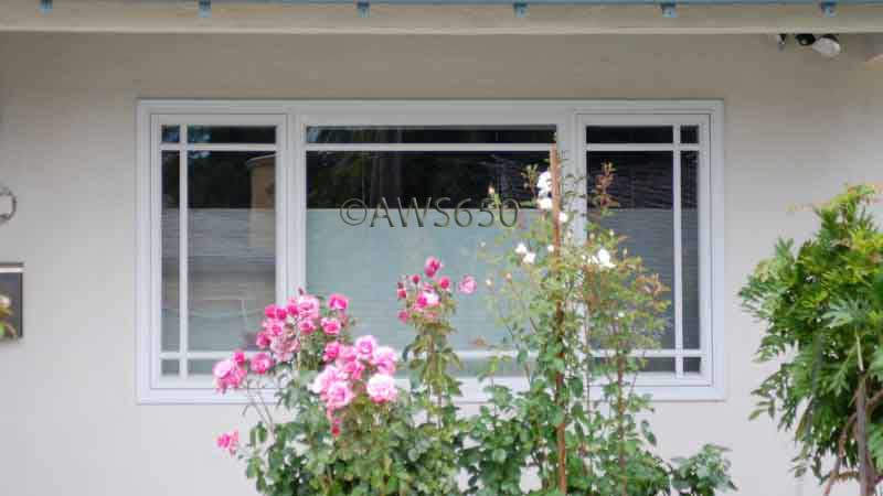 Andersen Casement window with prarie S.D.L. grid installed in San Carlos,Ca